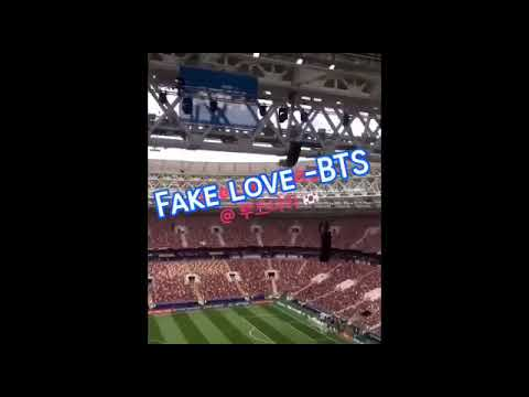 BTS (방탄소년단) Fake Love Song 🔊- FIFA WORLD CUP 2018