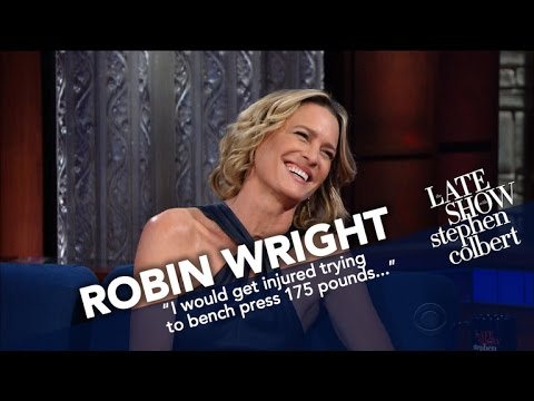 Robin Wright Picks Claire Underwood In A Fig