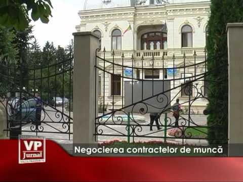 Negocierea contractelor de muncă