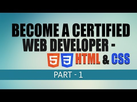Free Complete Web Development Tutorial | HTML \u0026 CSS Fundamentals | Part 1 | Eduonix