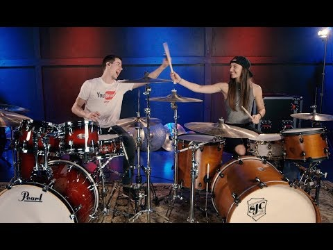 Bad Guy - Billie Eilish - Drum Cover Ft. Coop3rdrumm3r