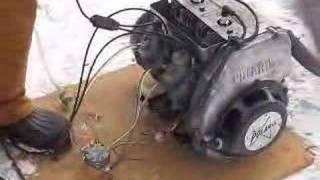 10. 295/300cc polaris engine test for go kart