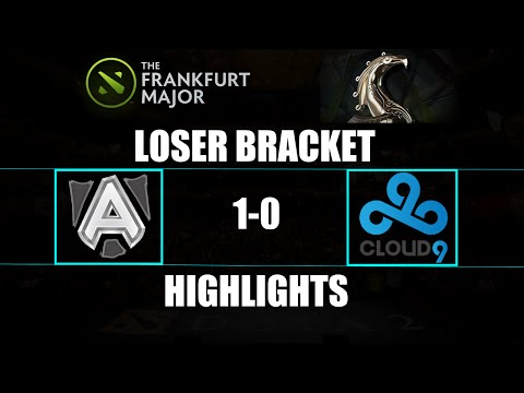 The Frankfurt Major: The Alliance 1-0 Cloud9 Highlights Loser Bracket