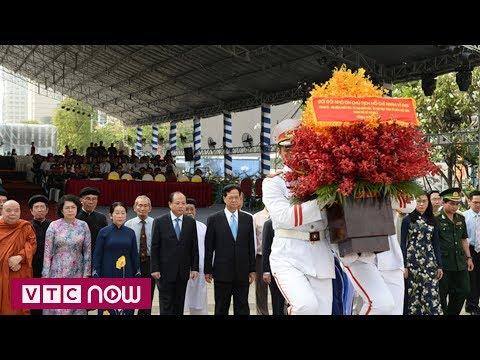 TPHCM kỷ niệm 128 ngày sinh Chủ tịch Hồ Chí Minh | VTC1 - Thời lượng: 43 giây.