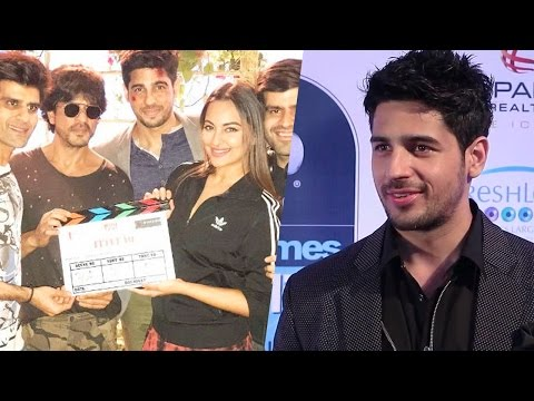 Sidharth Malhotra Reveals Some Inside Details From