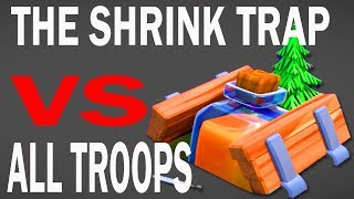 Video (HINDI) NEW SHRINK TRAP  VS ALL TROOPS IN CLASH OF CLANS MP3, 3GP, MP4, WEBM, AVI, FLV Desember 2017