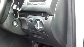 8. VW Golf Mk6 Interior Fuse Box Location 2008 to 2013 models