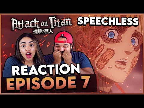 ARMIN NUKE TRANSFORMATION - Attack on Titan Season 4 Episode 7 Reaction and Review