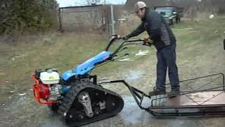 853 bcs tractor equipement rubber track