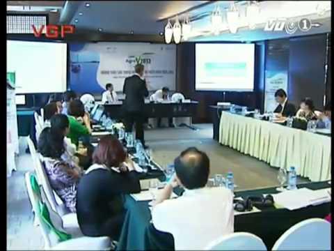 Phó Chủ tịch Liên hiệp trí tuệ trẻ Việt Nam Bùi Văn Dũng dự Hội nghị Nông nghiệp Việt Nam