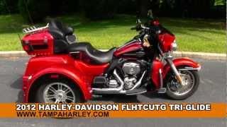 9. 2012 Harley-Davidson Trike Tri-Glide Ultra Classic