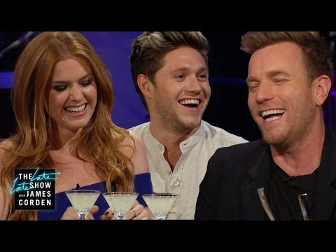 Spill Your Guts or Fill Your Guts w/ Niall Horan, Ewan McGregor & Isla Fisher (видео)