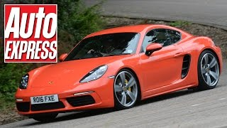 Porsche 718 Cayman S review: has Porsche's small coupe lost its soul? by Auto Express