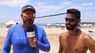 Verão | Prática de Vôlei na Praia de São Tomé de Paripe