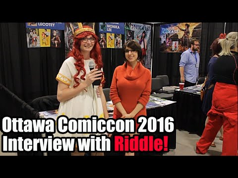 Ottawa Comiccon 2016 Riddle Interview