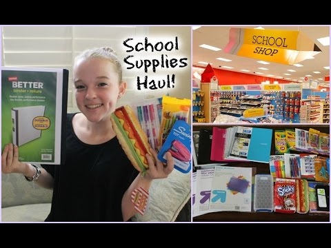 haul - Switch to HD! ❤Thumbs up if you enjoyed!❤ Back to School Supplies Haul 2013! ↓ https://www.youtube.com/watch?v=okOqJewwne0 Giveaway Rules/Info ↓ (Anyone can enter!) 1. Get parents'...