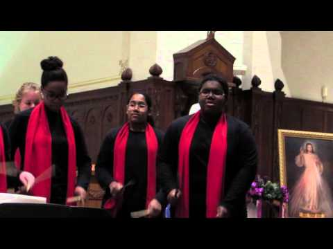Boston City Singers World Rhythm Ensemble Performs Song From Guinea  - 12/19/15 - Thornton Sheppard