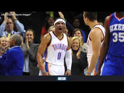 Video: Russell Westbrook's Triple-Double Streak Ends At Four Games