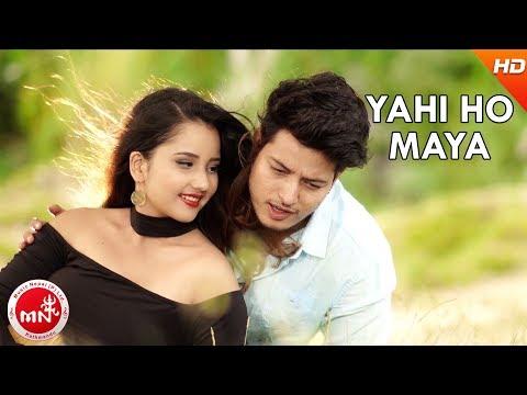 (New Nepali Song 2074/2017 | Sayad Yahi Ho Maya - Sandesh...4 min, 28 sec.)