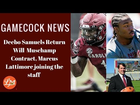 Gamecock News- Deebo Samuels Coming Back To USC Will Muschamp Contract