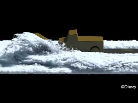 Snow Simulation for the Disney Animation