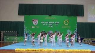 CHEERLEADING ĐẠI HỌC KIẾN TRÚC ĐÀ NẴNG - Chung Kết Toàn Quốc 2013