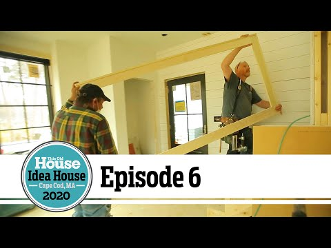 Gutters, Floors, and Doors   Idea House Build Ep 6   This Old House