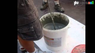 התזת מיקרוטופינג חידוש משטח בטון - עשה זאת בעצמך - YouTube