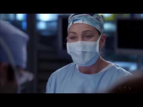 Greys Anatomy - Levi (Glasses) gives blood