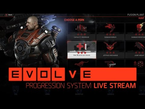 Evolve Live –– Official Livestream — The Progression System Explained (OCT 24)
