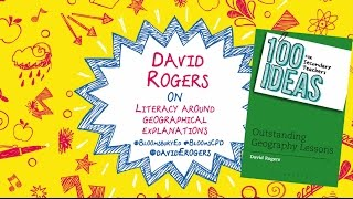 Let's talk CPD for teachers with Bloomsbury Education! Author of 100 Ideas for Secondary Teachers: Outstanding Geography Lessons, David Rogers, talks about w...