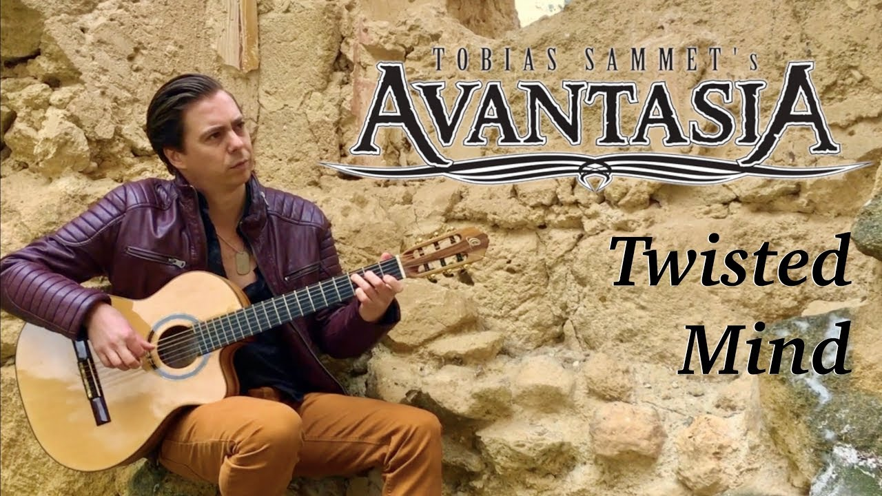 AVANTASIA – Twisted Mind (Acoustic) – Classical Fingerstyle guitar by Thomas Zwijsen