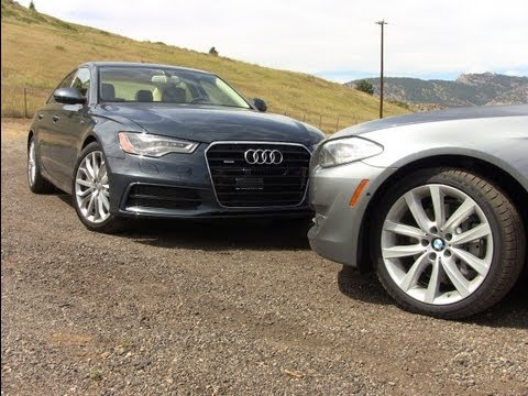 2012 Audi A6 versus BMW 535i review: And the best luxury sedan is…