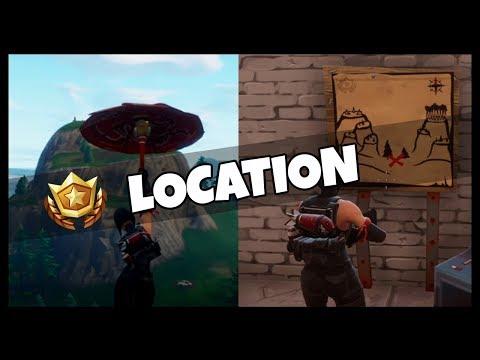 Fortnite: Snobby Shores Treasure Map Location Guide