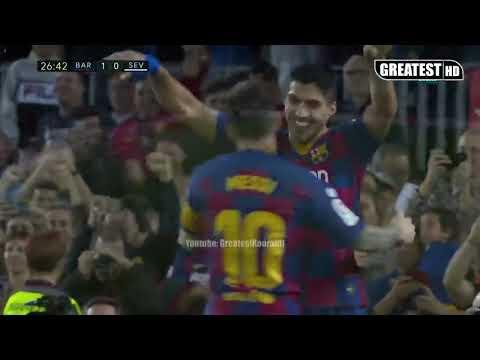 Barcelona vs Sevilla 4:0 FULL MATCH