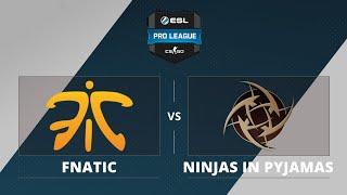 fnatic vs NiP, game 1