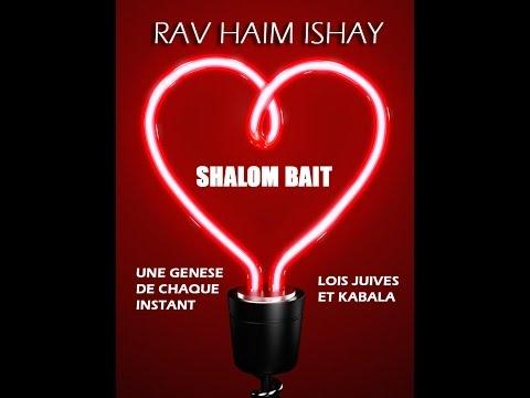 Kabbala et shalom baït - cours N°5 : la notion d'appartenance
