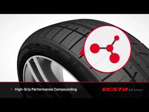 Kumho Tire Ecsta LE Sport Part 1 KU39