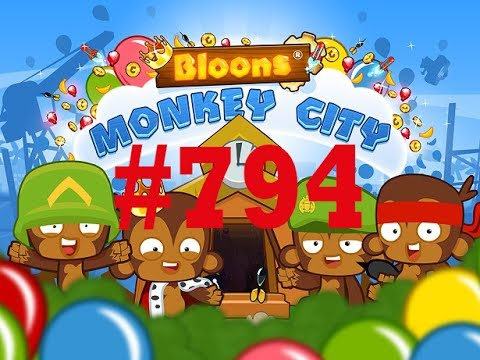 Bloons Monkey City 794 Twitch LIVE Stream Cool Free Music - [ Deutsch  Gameplay  Mobile ] - TD