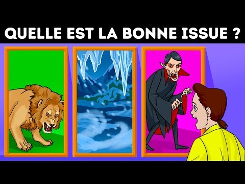 FAIS LE BON CHOIX POUR SURVIVRE ! 9 ÉNIGMES POUR TESTER TES CAPACITÉS DE SURVIE