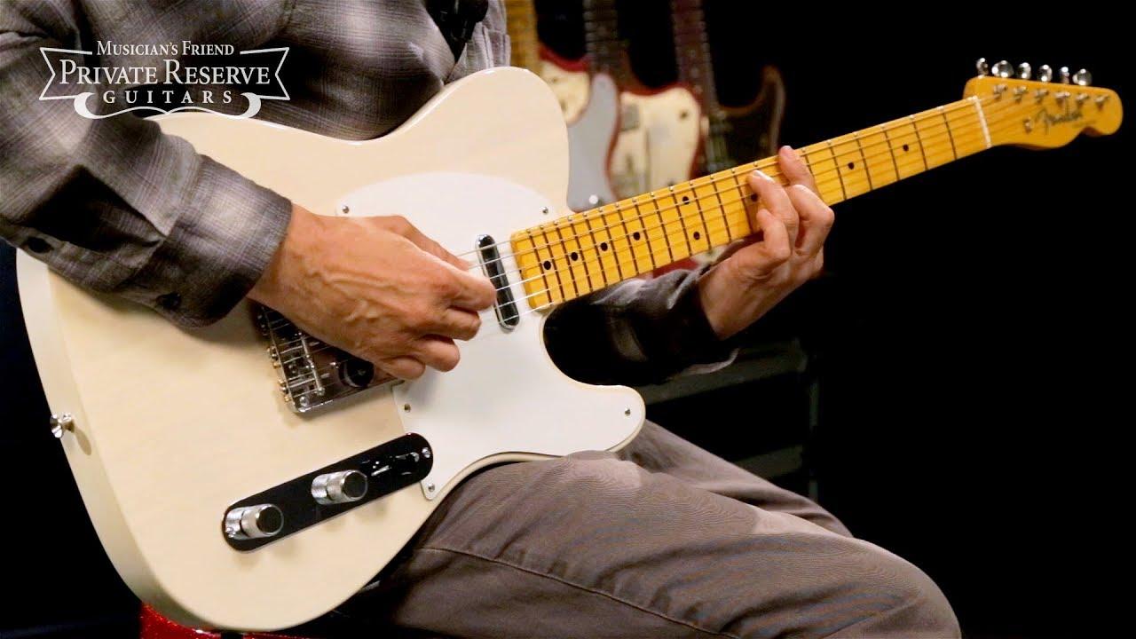 Fender Custom Shop Vintage Custom '58 Top-load Telecaster Electric Guitar