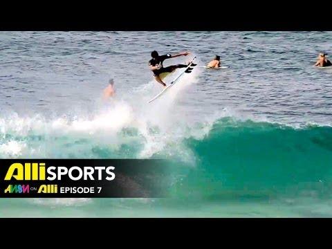 Todd Richards AWSM on Alli | Ep 7 with Pedro Barros, Gabriel Medina, Aaron Bitner