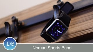 Learn More:http://bit.ly/2t9ziuINomad released the ultimate Sports Strap for Apple Watch made of hypoallergenic silicone for anything you can throw at it. Leather Band: http://bit.ly/2e0xDkxRugged Band: http://bit.ly/2eyp40x~~Visit us at iDownloadBlog.com for more Apple news and videos!Download the free iDB app for the latest news! https://goo.gl/bY6OvS~~#Social:http://www.twitter.com/iDownloadBloghttp://www.facebook.com/iDownloadBloghttp://www.twitter.com/Andrew_OSU