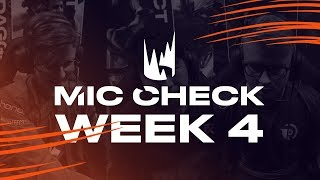 LEC Mic Check: Week 4 | Spring Split 2019 by League of Legends Esports