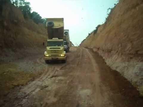 Rodovia Transamazônica - Trecho Altamira/Santarém - Transbrasiliana.AVI