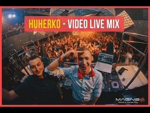 💣 HUHERKO VIDEO LIVE SET @ MAGNES CLUB WTÓREK [25/12/2017] 💣 + TRACKLISTA ! (видео)
