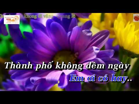 [Karaoke] Chuyện Tình Không Dĩ Vãng - Quang Lê (full beat) - Thời lượng: 6:14.