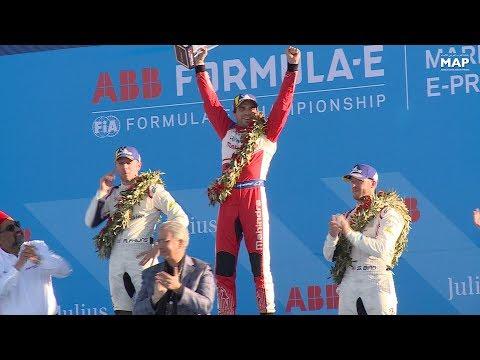 سباق الفورميلا …المتسابق البلجيكي جيروم دامبروزيو يفوز بالجائزة الكبرى لمراكش