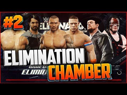 WWE 2K17 Elimination Chamber I БОИ ПОДПИСЧИКОВ#2