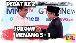 Video Analisa Kenapa Jokowi Menang 5-1 Debat ke-2 MP3, 3GP, MP4, WEBM, AVI, FLV Februari 2019